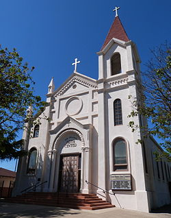The Falasco Arts Center, housed in the historic St. Joseph's Church, Los Banos.