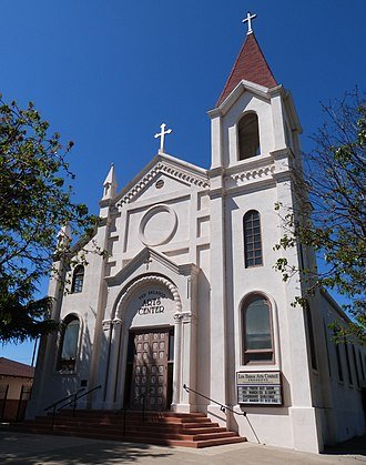Los Banos, California - The Falasco Arts Center, housed in the historic St. Joseph's Church, Los Banos.