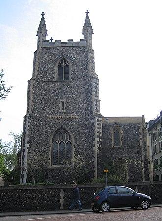 William Capps - St Michael-at-Plea, Norwich, England, 2006