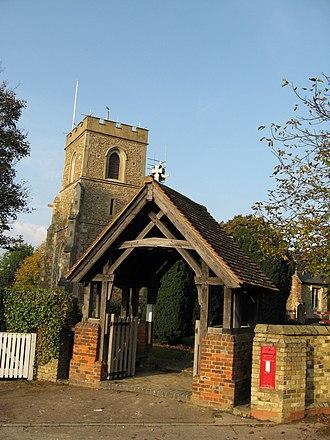 Norton, Hertfordshire - Image: St Nicholas Norton