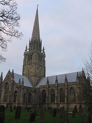 Patrington - Image: St Patricks Church Patrington