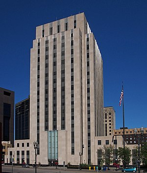 Saint Paul City Council - Image: St Paul City Hall & Ramsey County Courthouse