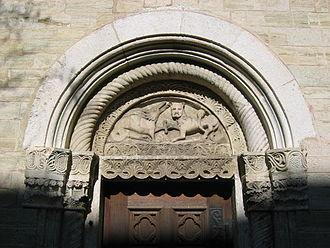 St. Peter's Church, Straubing - The south portal.