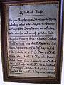 St Petrus und Paulu Bellenberg - Gedächtnistafel Krieg 1805 bis 1815.JPG