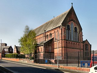 St Thomas Church, Halliwell Church in Greater Manchester, England