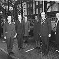 Staatsbezoek president Nyerere van Tanzania, aankomst president Nyerere in Amste, Bestanddeelnr 917-6718.jpg