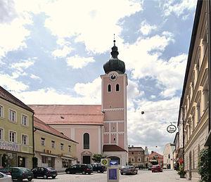 Landau an der Isar - Parish church