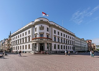 Wiesbaden City Palace building