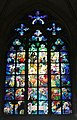 Stained glass window St Vituss Cathedral Mucha (2547699541).jpg