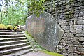 Stairs and walls - Parco dei Mostri - Bomarzo, Italy - DSC02446.jpg