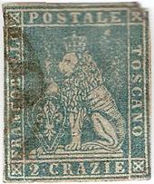 Histoire philat lique et postale du grand duch de toscane for B et b italia