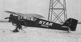 Un Curtiss Robin de Star Air Service en 1933