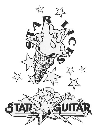 Star Licks Productions - Image: Star Licks Guitar logo