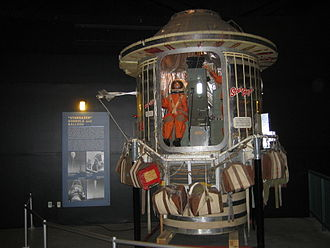 Joseph Kittinger - Stargazer gondola on display at the National Museum of the U.S. Air Force.