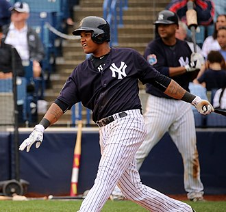 Starlin Castro - Castro with the New York Yankees
