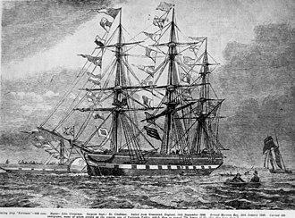 Fortitude (ship) - Image: State Lib Qld 1 100296
