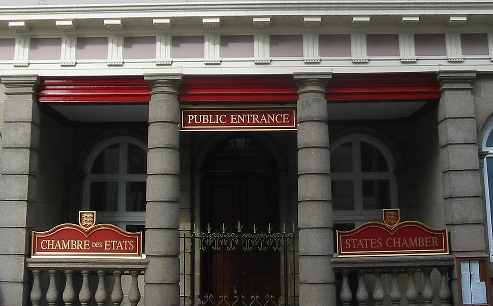 States Chamber public entrance Jersey