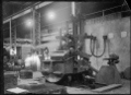 Steel casting with electric furnaces at Hutt Railway Workshops, 1929. ATLIB 295038.png