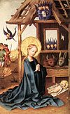 Stefan Lochner - Adoration of the Child Jesus - WGA13343.jpg