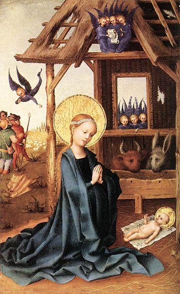 File:Stefan Lochner - Adoration of the Child Jesus - WGA13343.jpg