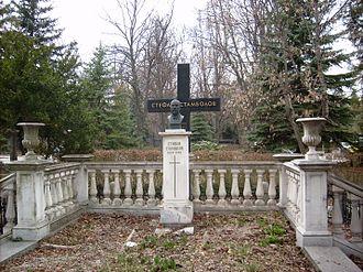 Stefan Stambolov - Stefan Stambolov's grave in Sofia Central Cemetery