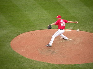 Steven Shell - Shell with the Washington Nationals