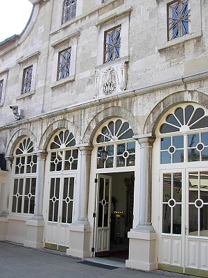 Foreign relations of Greece - The entrance of the Patriarchal Cathedral of St. George in the Phanar district.