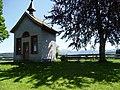Stiefenhofen Pestkapelle, von NW, Hgr Nagelfluhkette.jpg