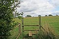 Stile near Freezeland Farm - geograph.org.uk - 225461.jpg