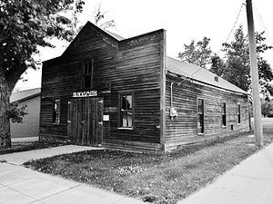 Gettysburg, South Dakota - Stocker Blacksmith Shop listed on the National Register of Historic Places