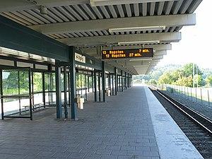 Fittja - Image: Stockholm subway fittja 20060913 001