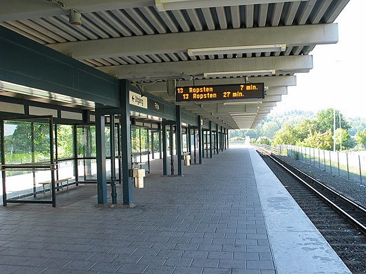 Fittja metro station