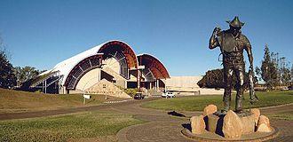 Longreach, Queensland - Australian Stockman's Hall of Fame in Longreach