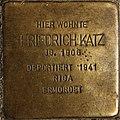 Stolperstein Göppingen, Friedrich Katz.jpg
