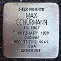 Stolperstein Kalkar Monrestraße 20 Max Schürmann.jpg