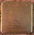 Stolperstein Karlsruhe Karl Grosshans Staendehausstr 2 (fcm).jpg