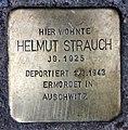 Stolperstein Klausenerplatz 2 (Charl) Helmut Strauch.jpg