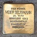 Stolperstein Marktstrasse 87 Meier Seligmann.jpg