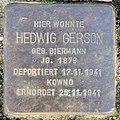 Stolperstein Nestorstr 54 (Halen) Hedwig Gerson.jpg