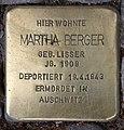 Stolperstein Pariser Str 47 (Wilmd) Martha Berger.jpg