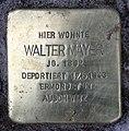Stolperstein Reinickendorfer Str 15 (Gesbr) Walter Mayer.jpg