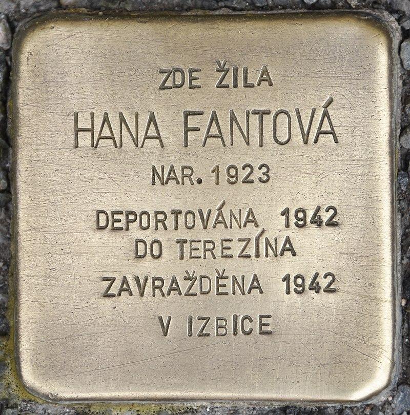 Stolperstein für Hana Fantova.jpg