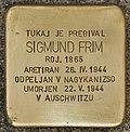 Stolperstein für Sigmund Frim (Murska Sobota).jpg