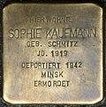 Stumbling block for Sophie Kaufmann (large Greek market 75)