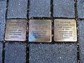Stolpersteins Bertha Herz, Robert Herz, Wilhelmine Herz Bonner Talweg 88 Bonn.JPG