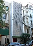 Edward Durell Stone Townhouse, Nueva York, Nueva York (1956)