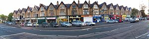 Golden Triangle (Yorkshire) - Leeds' affluent district of Roundhay, lies within the area.