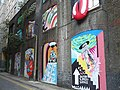 Street art in Bear Gardens near Tate Modern - geograph.org.uk - 838028.jpg