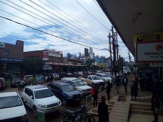 Eldoret - Image: Street in Eldoret