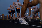 Students from Basic Officer Training participate in physical fitness interval training.jpg